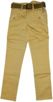 British Terminal Slim Fit Boys Cream Trousers