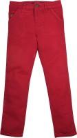 FS Mini Klub Regular Fit Boys Red Trousers