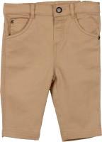 Beebay Regular Fit Baby Boys Brown Trousers