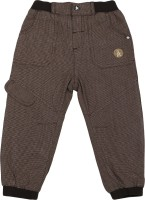Addyvero Slim Fit Girls Brown Trousers