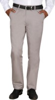 Modo Regular Fit Men Grey Trousers