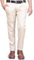 British Terminal Slim Fit Men's White Trousers
