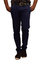 British Terminal Slim Fit Men's Blue Trousers