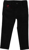 Beebay Regular Fit Girls Black Trousers
