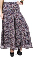 Trend Arrest Regular Fit Women's Multicolor Trousers