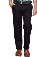 British Terminal Slim Fit Men's Black Trousers