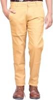 British Terminal Slim Fit Men Beige Trousers