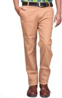 British Terminal Slim Fit Men's Cream Trousers