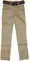 British Terminal Slim Fit Boys Cream Trousers