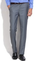 Arrow Regular Fit Men's Grey Trousers