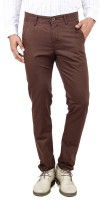 Uber Urban Rocky Slim Fit Men's Brown Trousers