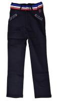 British Terminal Slim Fit Boys Black Trousers