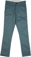 Flying Machine Slim Fit Boys Blue Trousers
