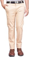 British Terminal Slim Fit Mens Beige Trousers