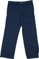 Carters Slim Fit Boys Dark Blue Trousers