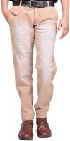 British Terminal Regular Fit Men's Cream Trousers