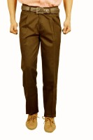 Studio Nexx Regular Fit Men's Gold Trousers