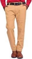 British Terminal Skinny Fit Men's Yellow Trousers