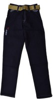 British Terminal Slim Fit Boys Black Trousers