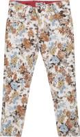 Addyvero Slim Fit Girls Multicolor Trousers