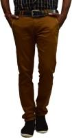 British Terminal Slim Fit Men's Yellow Trousers