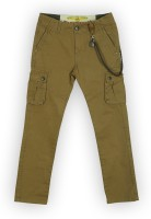 Lilliput Regular Fit Boys Brown Trousers