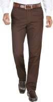Modo Regular Fit Men Brown Trousers