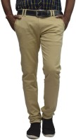British Terminal Slim Fit Mens White Trousers