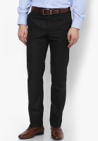 AD & AV Regular Fit Men Black Trousers