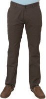 Klix Regular Fit Men's Brown Trousers