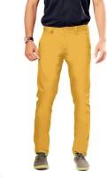 Uber Urban Rocky Slim Fit Men's Yellow Trousers