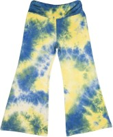 Hunny Bunny Regular Fit Girls Yellow, Blue Trousers