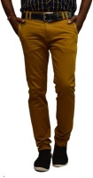 British Terminal Slim Fit Men's Brown Trousers