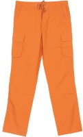Flying Machine Regular Fit Boys Orange Trousers