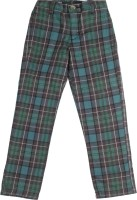 US Polo Kids Regular Fit Boys Multicolor Trousers