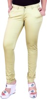 Airwalk Regular Fit Women's Gold Trousers