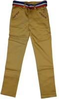 British Terminal Slim Fit Boys Beige Trousers