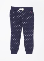 Nautica Slim Fit Girls Dark Blue Trousers