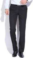 Raymond Regular Fit Men's Black Trousers