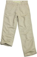 SuperYoung Regular Fit Boys Beige Trousers
