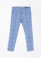 United Colors of Benetton. Slim Fit Girls Blue Trousers