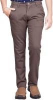 British Terminal Slim Fit Men's Grey Trousers