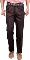 Studio Nexx Regular Fit Men's Brown Trousers