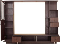Furnicity Engineered Wood TV Entertainment Unit(Finish Color - Wenge)