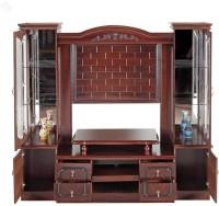 View RoyalOak Engineered Wood TV Entertainment Unit(Finish Color - Honey Brown) Furniture (RoyalOak)