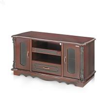View RoyalOak Antique Engineered Wood TV Entertainment Unit(Finish Color - Rose Wood) Price Online(RoyalOak)