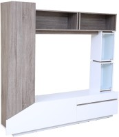 HomeTown Jasmine Engineered Wood TV Entertainment Unit(Finish Color - White)