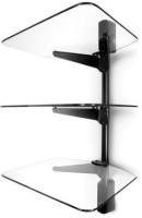 View Vantage Point Glass TV Entertainment Unit(Finish Color - Silver) Furniture (Vantage Point)