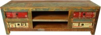 The Attic Solid Wood TV Entertainment Unit(Finish Color - Multicolor)
