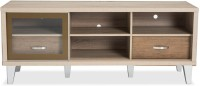 Durian VESPER Engineered Wood TV Entertainment Unit(Finish Color - White Oak/Dirty Brown)